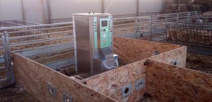 Εγκατάσταση μηχανής τεχνητού θηλασμού τυπου DBT 6i Classic